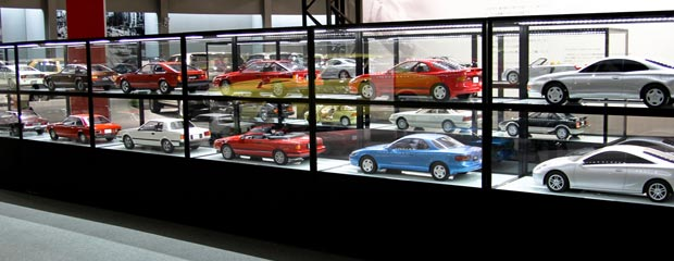 Check Out Toyota's Secret Model Car Collection Image