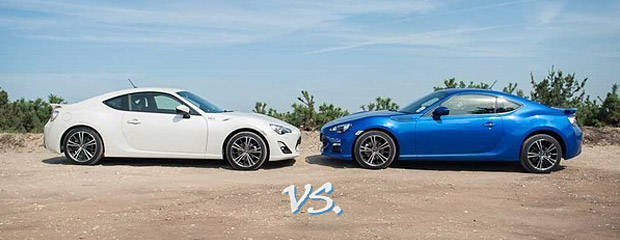 Toyota GT86 vs Subaru BRZ Image