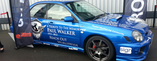 Paul Walker Tribute Day Photos & Writeup at Santa Pod Raceway Image