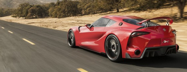 Toyota FT-1 Concept - Is this the Supra Reborn? Image