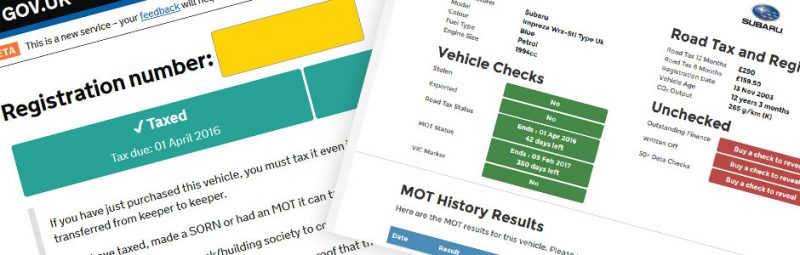 4 Free Tools to Check Car Tax, MOT, Insurance and More Image