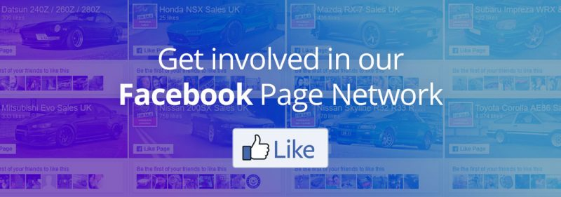 Join our Facebook Car Sales Page Network Image